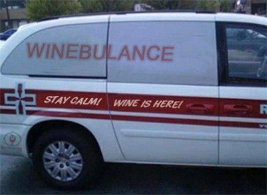 Wine Ambulance | It Is What It Is