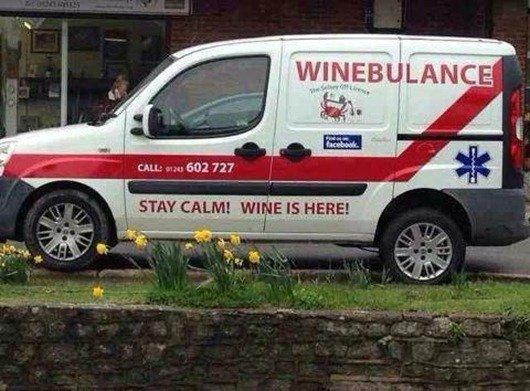 Ambulance and Wine on Pinterest