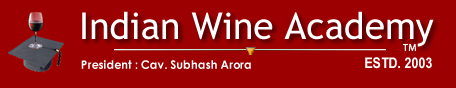 India's First Wine, Food and Hospitality Website, INDIAN WINE ACADEMY, Specialists in Food & Wine Programmes. Food Importers in Ten Cities Across India. Publishers of delWine, India's First Wine.
